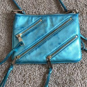 Rebecca Minkoff ice blue crossbody bag